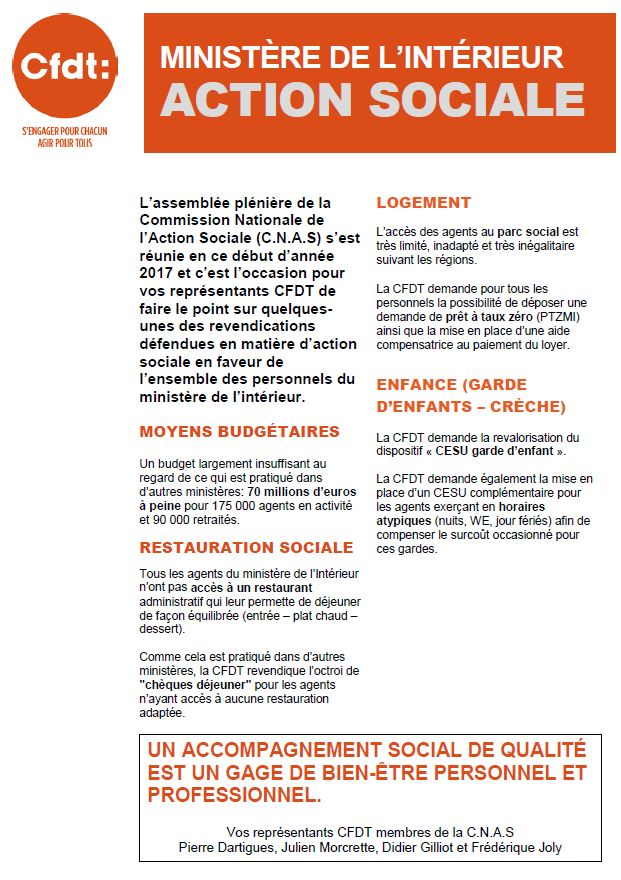 Minist re de l 39 int rieur action sociale for Elections ministere de l interieur