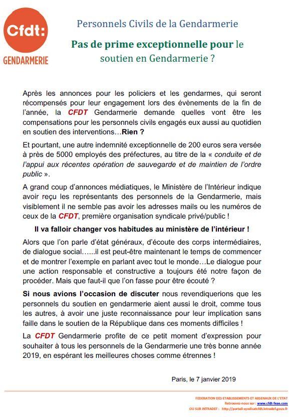 3ed11527d72 Personnels civils de soutien en gendarmerie